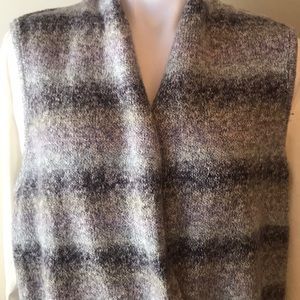 Chico's Muted Purple Cardigan Vest
